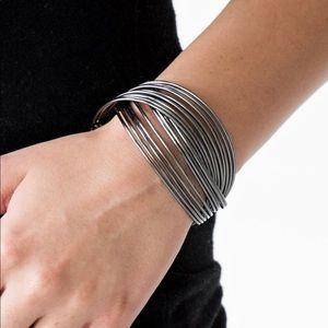 Jewelry - Gunmetal Cuff